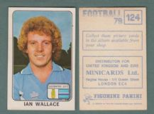 Coventry City Ian Wallace Scotland 124